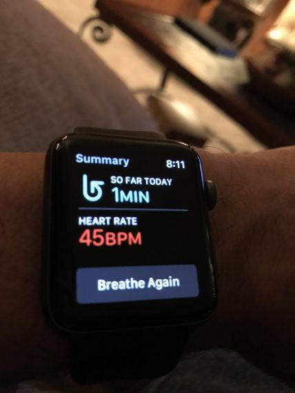 Apple Watch heart beat app