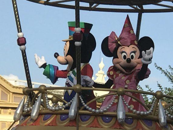 Disney World Parade float