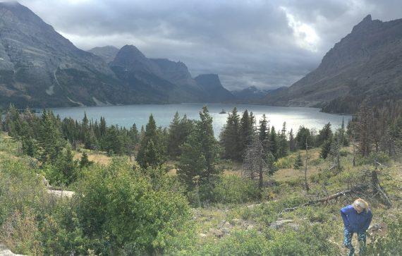 St Mary Lake, GNP