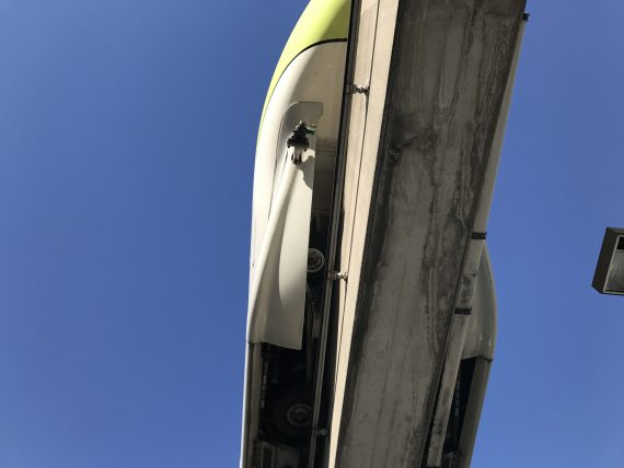 Walt Disney World Monorail closeup
