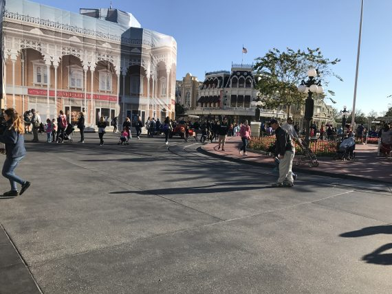Town Square Magic Kingdom