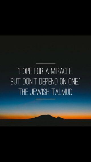 Jewish saying