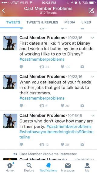 Disney Memes Twitter site