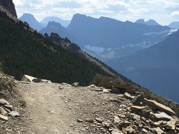 Highline trail Grinnell Glacier overlook