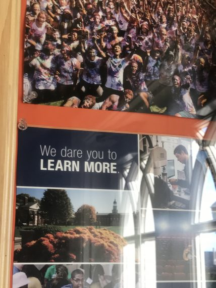 Bucknell challenge to students