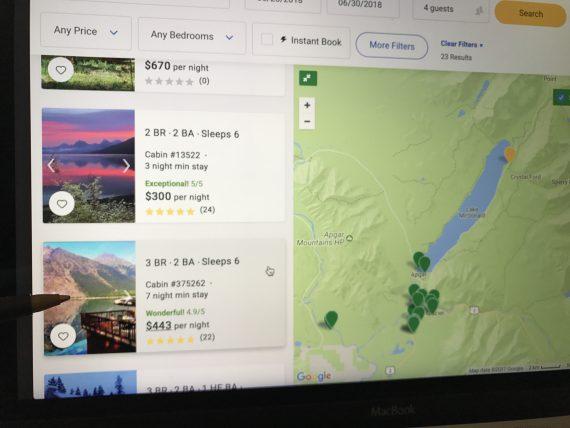 Glacier Park vacation rental home