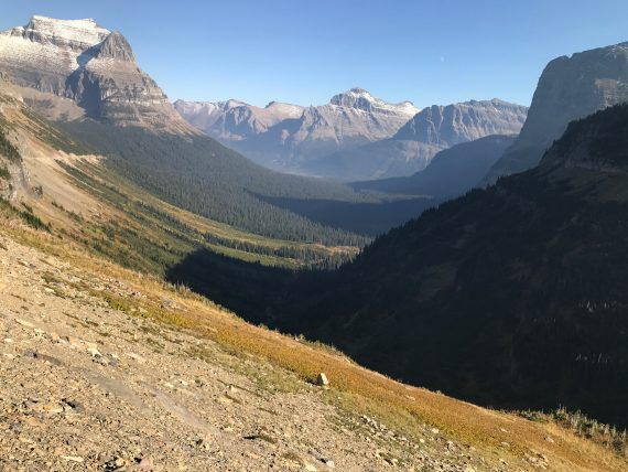 Logan Pass looking East