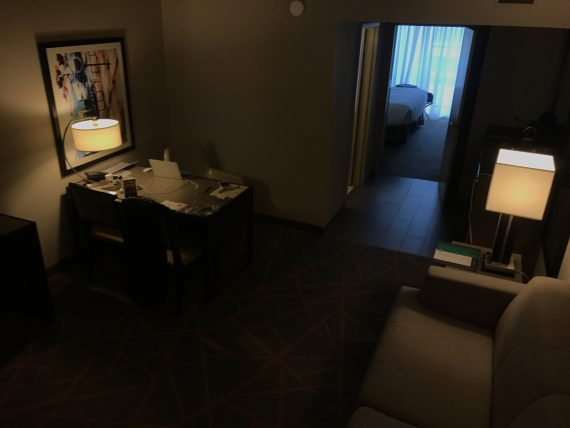 Embassy Suites room
