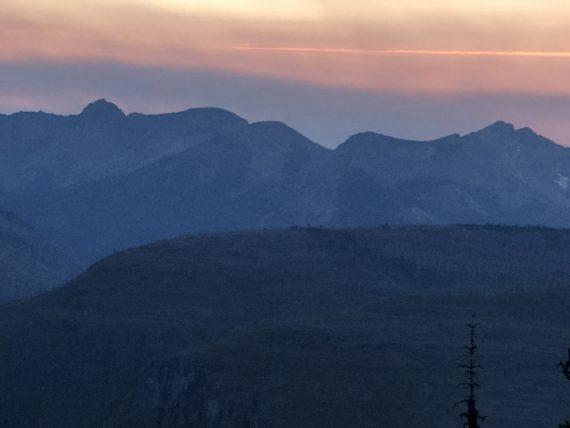 Granite Park Chalet view