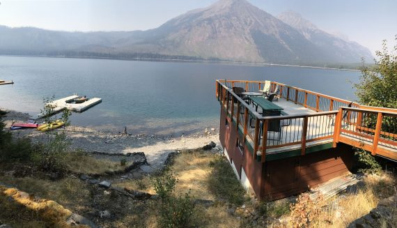 Lake McDonald Vacation Home Rental Cabin