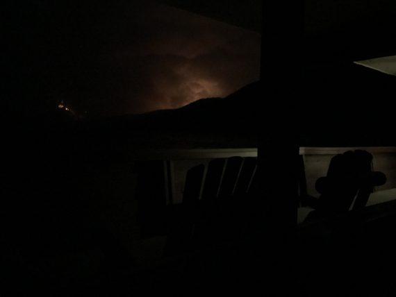 Lake McDonald Fire 2017