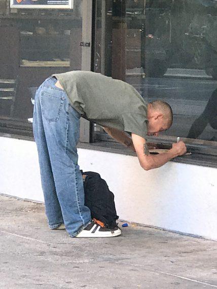 Philadelphia homeless man