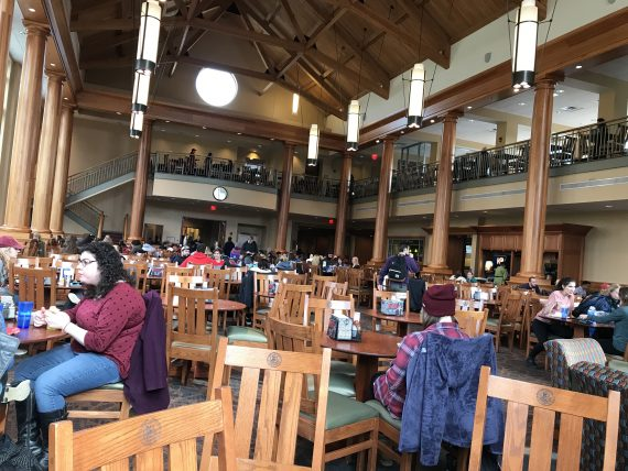 Muhlenberg dining hall