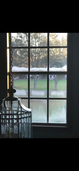 frost on florida window