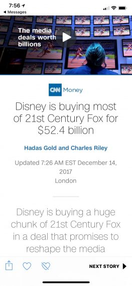 Disney buys most of Fox