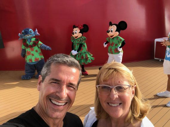 Disney Cruiseline characters