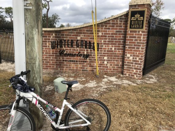 biking in Winter Garden Florida