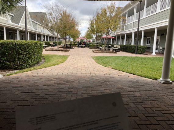 Windermere Prep HS courtyard