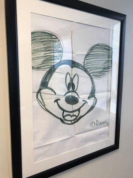 Hand drawn Mickey Mouse