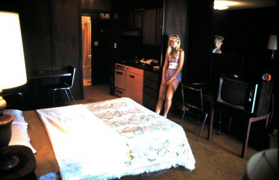 Victoria motel in the 1980's