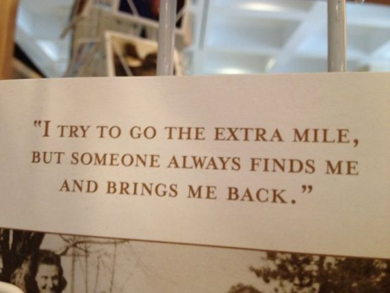 extra mile joke