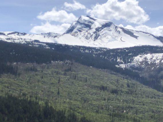 Heaven's Peak Glacier
