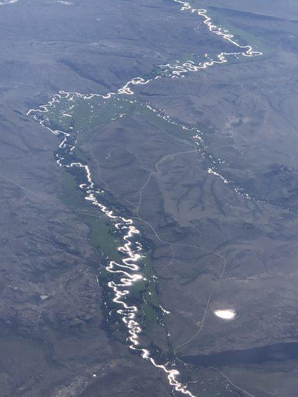 curvy river
