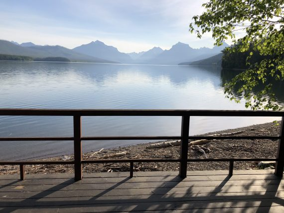Glacier National Park VRBO home on Lake McDonald