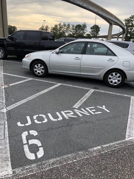 Epcot parking