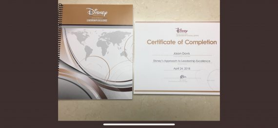 Disney Institute workbook