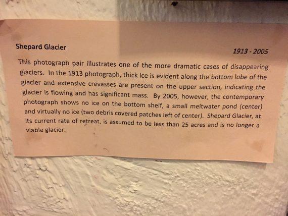 Glacier Park facts