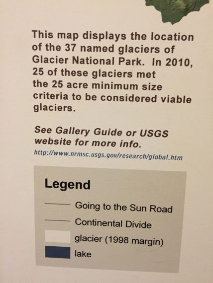 Glacier Park facts