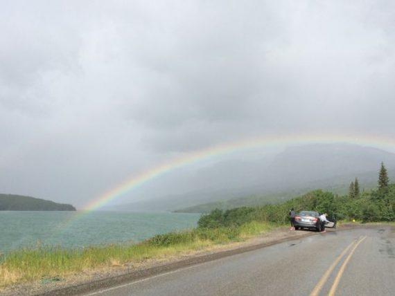 Glacier Park rainbow