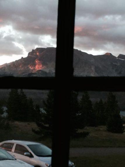Glacier Park at sunrise