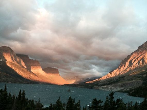 Glacier Park at sunrise