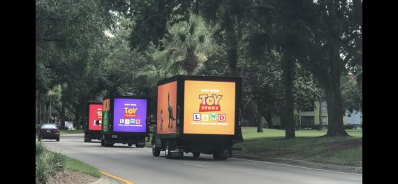 Disney technology on trucks