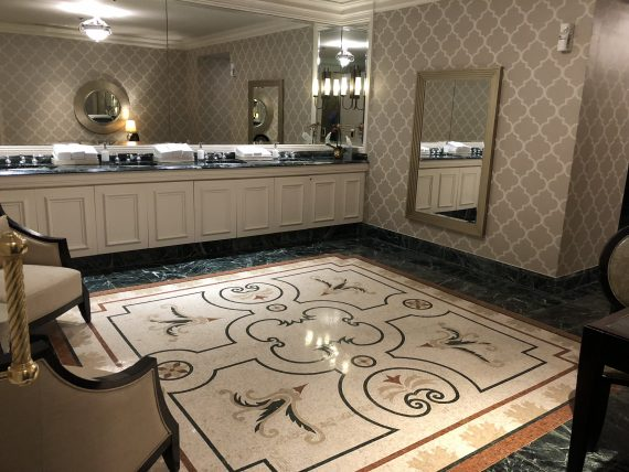 Ritz Carlton bathroom