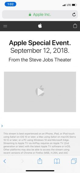 Apple 2018 Keynote