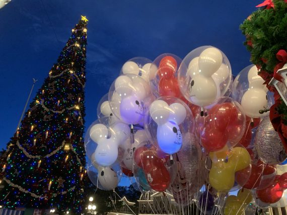 Walt Disney World Christmas Tree
