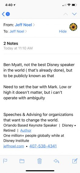 Disney Keynote Speakers