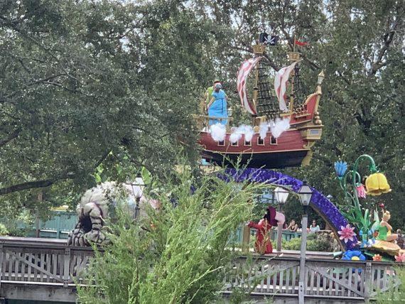 Disney Parade float