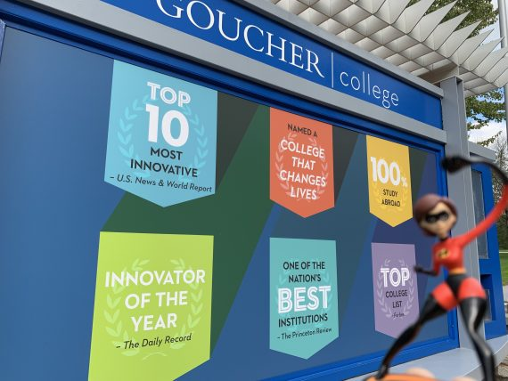 Goucher College visit