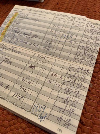 personal checkbook