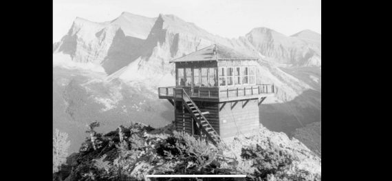 Glacier Park fire tower