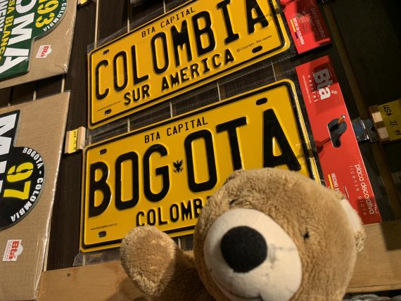 Jack the Bear in Bogota