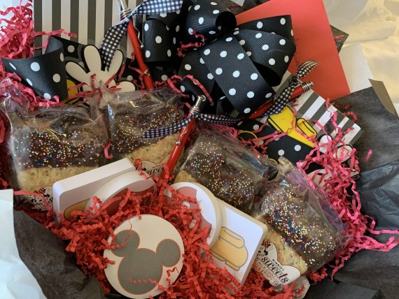 Disney gift basket for college admissions team
