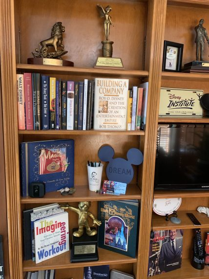 Disney speaker jeff noel's home office
