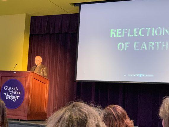 Ron Logan Disney Legend presentation