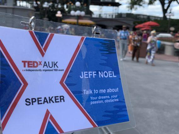 Disney TED Talk speaker