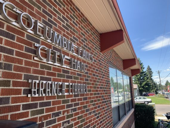 Columbia Falls, MT city hall